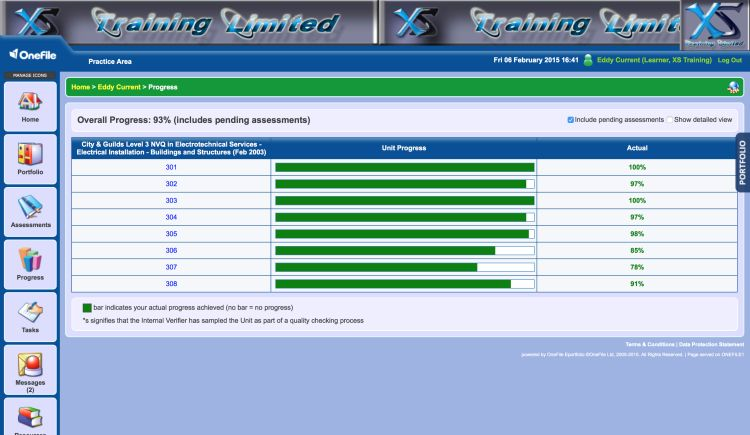 Onefile E portfolio System